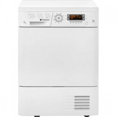 Save £60 at AO on Hotpoint TDHP871RP 8Kg Heat Pump Tumble Dryer - White - A+ Rated