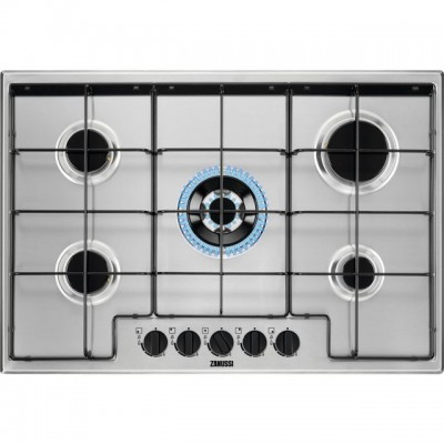 Save £30 at AO on Zanussi ZGNN752X 74cm Gas Hob - Stainless Steel