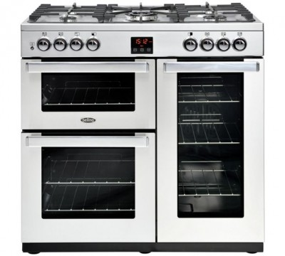 Save £200 at Appliance City on Belling COOKCENTRE 90GPROFSTA 4075 90cm Gas Range Cooker - STAINLESS STEEL