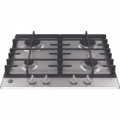 Save £27 at AO on Hoover H-HOB 300 GAS HMK6GRK3X 60cm Gas Hob - Stainless Steel