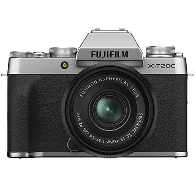 Save £200 at WEX Photo Video on Fujifilm X-T200 Digital Camera with XC 15-45mm Lens - Silver