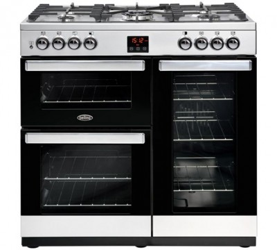 Save £150 at Appliance City on Belling COOKCENTRE 90GSTA 4076 90cm Gas Range Cooker - STAINLESS STEEL