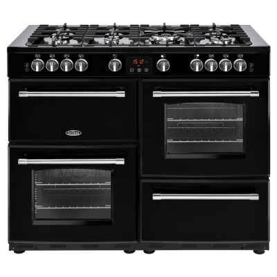 Save £150 at Appliance City on Belling FARMHOUSE 110GBLK 4151 110cm Gas Range Cooker - BLACK