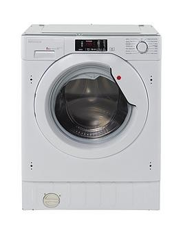 Save £100 at Very on Hoover H-Wash 300 Hbwm814D 8Kg Load, 1400 Spin Integrated Washing Machine - White - Washing Machine Only