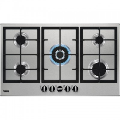 Save £40 at AO on Zanussi ZGNN955X 86cm Gas Hob - Stainless Steel