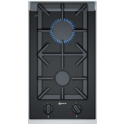 Save £60 at Appliance City on Neff N23TA29N0 Domino 2 Burner Flame Select Gas Hob - STAINLESS STEEL
