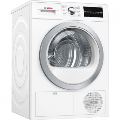 Save £70 at AO on Bosch Serie 6 WTG86402GB 8Kg Condenser Tumble Dryer - White - B Rated