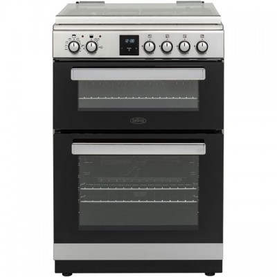 Save £58 at AO on Belling FSDF608Dc 60cm Dual Fuel Cooker - Stainless Steel - A/A Rated