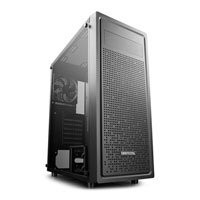 Save £6 at Scan on DEEPCOOL E-SHIELD Mid Tower Chassis, Black, Tempered Glass, 120mm Fan, Radiator Support, E-ATX/ATX/MicroATX/MiniITX