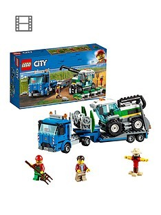 Save £5 at Very on LEGO City 60223 Harvester Transport