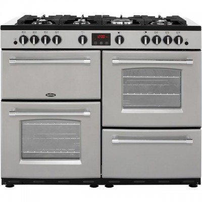 Save £186 at AO on Belling Farmhouse110GT 110cm Gas Range Cooker - Silver - A/A Rated