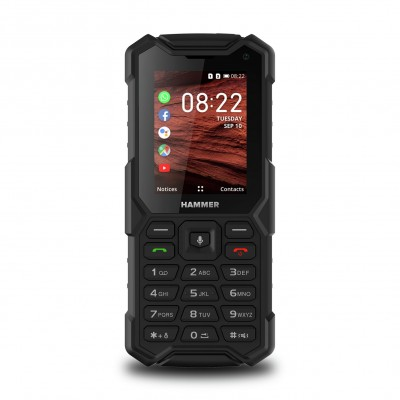 Save £10 at Argos on SIM Free HAMMER 5 Smart Rugged Mobile Phone - Black