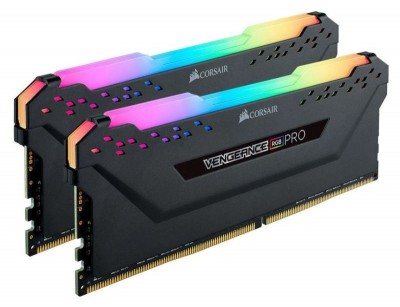 Save £20 at Ebuyer on Corsair Vengeance RGB PRO Black 32GB 3200 MHz DDR4 Dual Channel Memory Kit