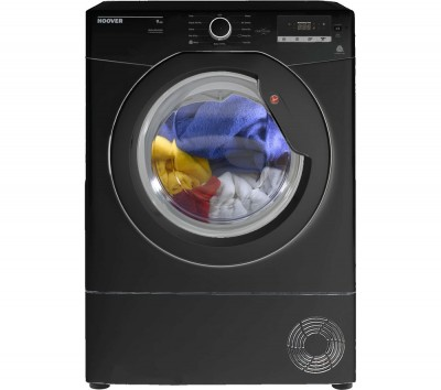 Save £30 at Currys on Hoover Tumble Dryer Dynamic Next DX C9DGB NFC 9 kg Condenser - Black, Black