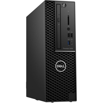 Save £102 at Ebuyer on Dell Precision 3431 SFF Workstation Desktop PC, Intel Xeon E-2224 3.4GHz, 16GB RAM, 256GB SSD M.2, DVDRW, AMD Radeon PRO WX 4100 4GB, Windows 10 Pro, 3 Year Onsite