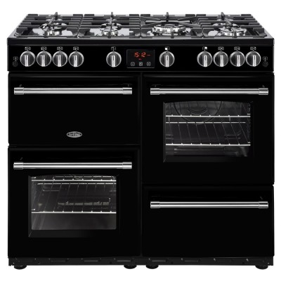 Save £170 at Appliance City on Belling FARMHOUSE 100GBLK 4139 100cm Gas Range Cooker - BLACK