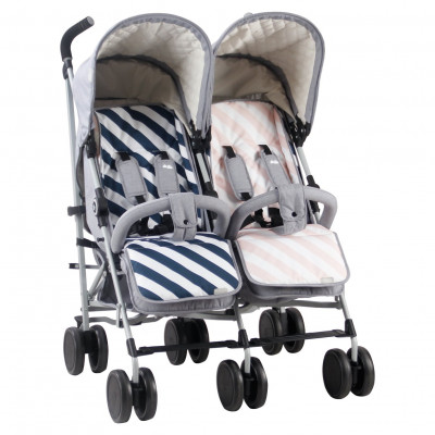 Save £25 at Argos on My Babiie Sam Faiers MB22 Stroller - Grey/Pink and Blue