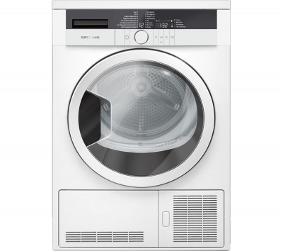 Save £70 at Currys on Grundig Tumble Dryer GTN27110GW 7 kg Condenser - White, White