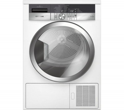 Save £90 at Currys on Grundig Tumble Dryer GTN38250MGCW 8 kg Heat Pump - White, White