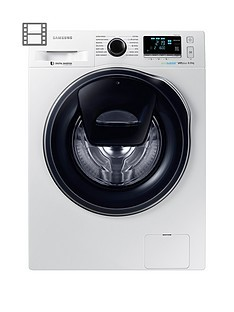 Save £140 at Very on Samsung WW80K6610QW/EU 8kg Load, 1600 Spin AddWash™ Washing Machine with ecobubble™ Technology - White