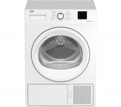 Save £50 at Currys on BEKO Pro DTBP8011W 8 kg Heat Pump Tumble Dryer - White, White