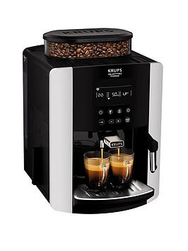 Save £100 at Very on Krups Arabica Digital Ea817840 Espresso Bean To Cup Coffee Machine - Silver