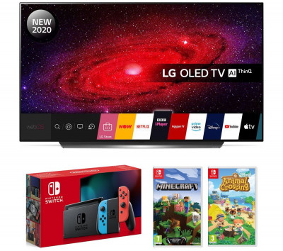 Save £300 at Currys on LG 65CX6 OLED TV with Nintendo Switch and Games