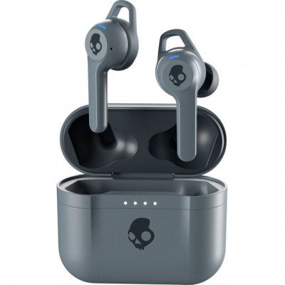 Save £20 at AO on Skullcandy Indy Fuel In-Ear Water Resistant Wireless Bluetooth Headphones - Grey