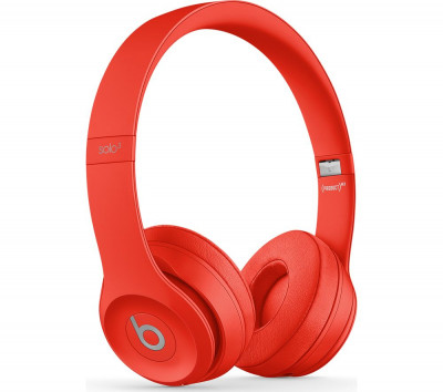 Save £50 at Currys on BEATS Solo 3 Wireless Bluetooth Headphones - Red, Red