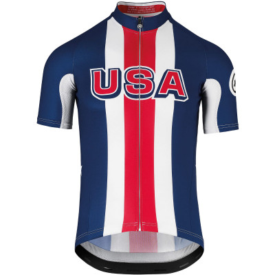 Save £12 at Wiggle on Assos USA Cycling Short Sleeve Jersey Jerseys