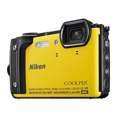 Save £45 at WEX Photo Video on Nikon Coolpix W300 Digital Camera - Yellow