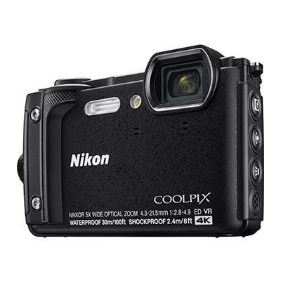 Save £45 at WEX Photo Video on Nikon Coolpix W300 Digital Camera - Black