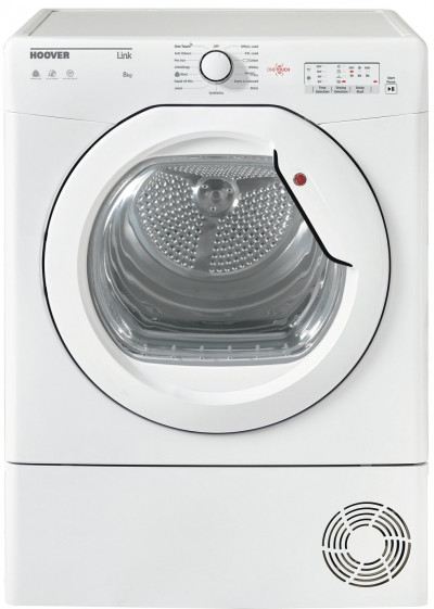 Save £70 at Argos on Hoover HLC8LG 8KG Condenser Tumble Dryer - White