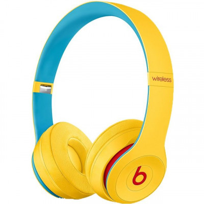 Save £54 at AO on Beats Solo3 Club Edition On-Ear Wireless Bluetooth Headphones - Yellow
