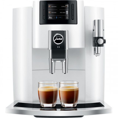 Save £100 at AO on Jura E8 15306 Bean to Cup Coffee Machine - White