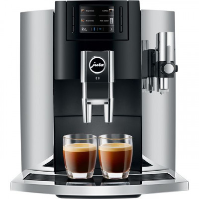 Save £366 at AO on Jura E8 15235 Bean to Cup Coffee Machine - Chrome
