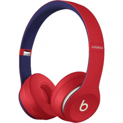 Save £54 at AO on Beats Solo3 Club Edition On-Ear Wireless Bluetooth Headphones - Red