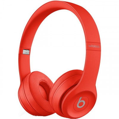 Save £24 at AO on Beats Solo3 On-Ear Wireless Bluetooth Headphones - Red