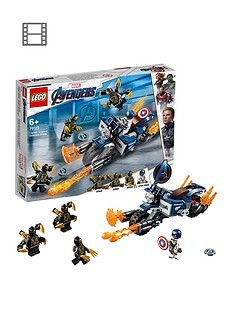Save £2 at Very on LEGO Super Heroes 76123 Marvel Avengers Outriders Attack Toy