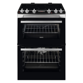 Save £70 at Sonic Direct on Zanussi ZCI66278XA 60cm Electric Cooker in St Steel D Oven Induction H