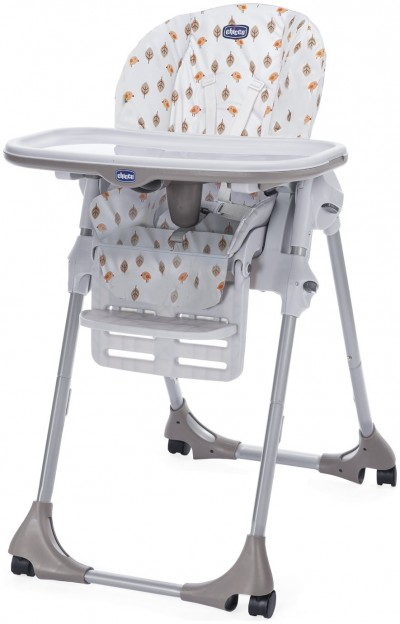 Save £10 at Argos on Chicco Polly Easy 4 Wheel Highchair - Romantic