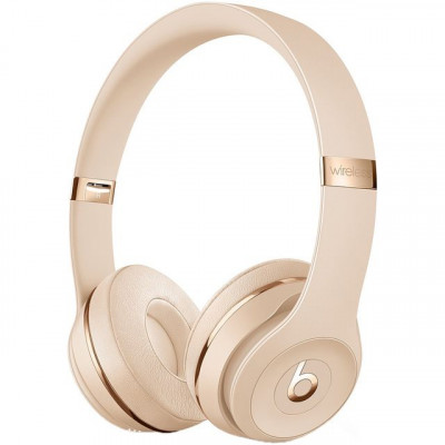 Save £14 at AO on Beats Solo3 On-Ear Wireless Bluetooth Headphones - Satin Gold
