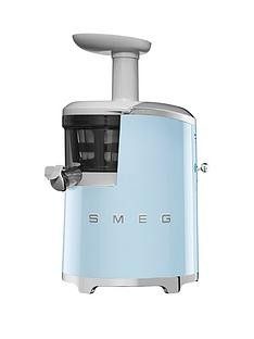 Save £70 at Very on Smeg SJF01 Retro Style Slow Juicer - Pastel Blue