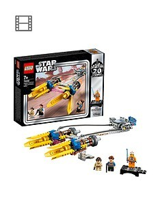 Save £3 at Very on LEGO Star Wars 75258 Anakin's Podracer 20th Anniversary Edition
