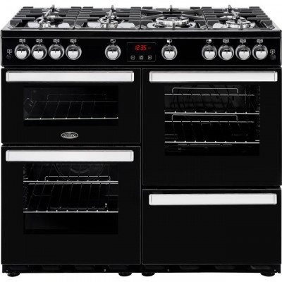 Save £224 at AO on Belling Cookcentre100G 100cm Gas Range Cooker - Black - A/A Rated