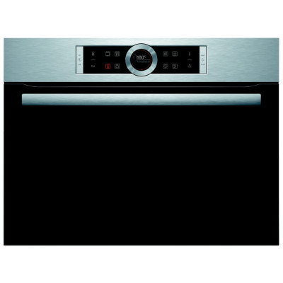 Save £100 at Appliance City on Bosch CMG633BS1B Serie 8 Built In Combination Microwave - STAINLESS STEEL