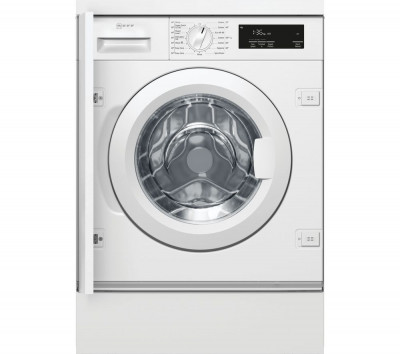Save £120 at Currys on NEFF W543BX1GB Integrated 8 kg 1400 Spin Washing Machine - White, White
