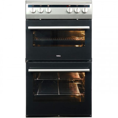 Save £39 at AO on Amica AFC5100SI 50cm Electric Cooker with Ceramic Hob - Silver - A/A Rated