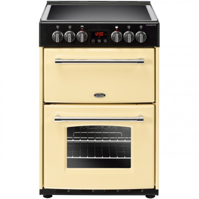 Save £140 at AO on Belling Farmhouse60E 60cm Electric Cooker with Ceramic Hob - Cream - A/A Rated