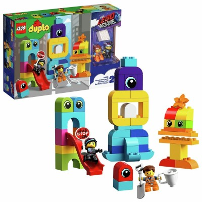 Save £9 at Argos on LEGO DUPLO LEGO Movie 2 Emmet and Lucy Playset - 10895